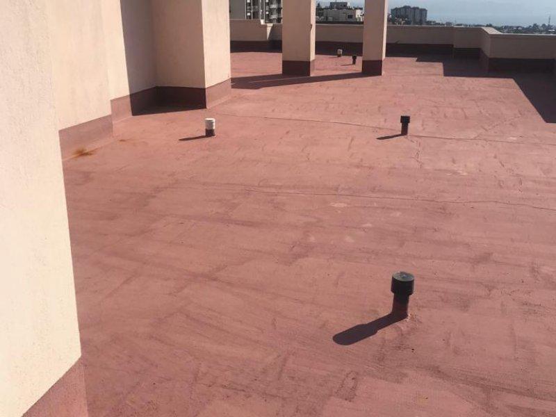 Güçbirliği Yapı Kooperatifi Binaları Çatıları UV Dayanımlı PVC İzolasyonu